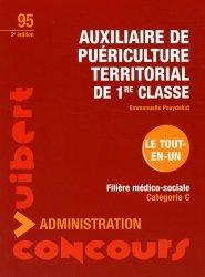 Souvent acheté avec Épreuve orale  Entrée en IFSI, le Auxiliaire de puériculture territorial de 1ère classe