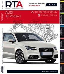 Dernières parutions dans Revue technique automobile, Audi A1 (09/2010 à 01/2015) 1.6Tdi 90 et 105CH
