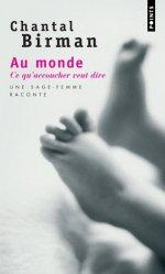 Souvent acheté avec Guide de consultation prénatale, le Au monde