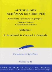 Dernières parutions sur Mathématiques fondamentales, Autour des schémas en groupes