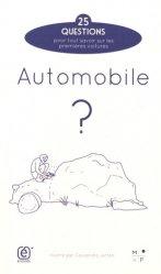 Dernières parutions sur Histoire de l'automobile, Automobile ?
