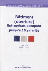 Souvent acheté avec Comment faire des garde-corps ?, le Bâtiment (ouvriers) Entreprises occupant jusqu'à 10 salariés