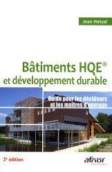 Souvent acheté avec L'autoconstruction en bois, le Bâtiments HQE et développement durable