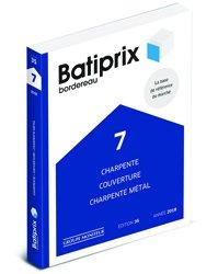 Nouvelle édition Batiprix 2018 Volume 7
