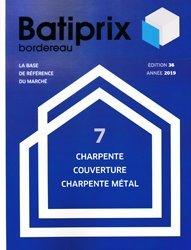 Nouvelle édition Batiprix 2019 Volume 7