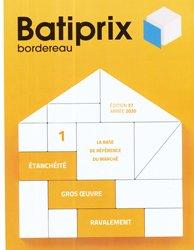 Dernières parutions sur Etudes de prix - Devis, Batiprix 2020 Volume 1