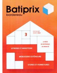 Dernières parutions sur Etudes de prix - Devis, Batiprix 2020 Volume 3