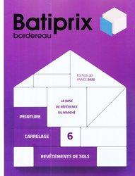 Nouvelle édition Batiprix 2020 Volume 6