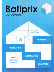 Dernières parutions sur Études de prix - Devis, Batiprix 2020  Volume 8