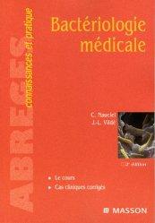 Dernières parutions dans Abrégés connaissances et pratique, Bactériologie médicale