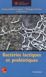 Dernières parutions sur Industrie laitière, Bactéries lactiques et probiotiques