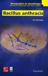 Dernières parutions dans Monographies de microbiologie, Bacillus anthracis