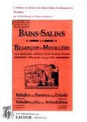 Dernières parutions dans Rediviva, Bains-Salins de Besançon la Mouillère