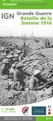 Dernières parutions sur Cartes thématiques, Bataille de la Somme 1916. 1/75 000