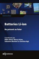 Dernières parutions sur Sciences des matériaux, Batteries Li-ion