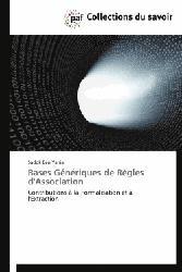 Dernières parutions sur Bases de données, Bases Génériques de Règles d'Association
