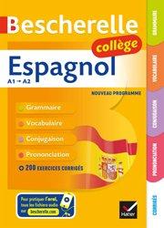 Dernières parutions sur Grammaire-Conjugaison-Orthographe, Bescherelle Espagnol collège