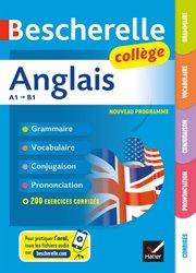 Dernières parutions dans Bescherelle langues, Bescherelle Anglais collège