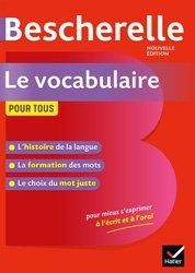 Dernières parutions sur Outils d'apprentissage, Bescherelle Le vocabulaire pour tous