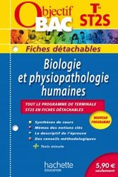 Souvent acheté avec Réussir l'épreuve orale de culture générale, le Biologie et physiopathologie humaines Terminale ST2S