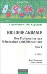Souvent acheté avec Guide des sciences expérimentales, le Biologie animale Tome 1
