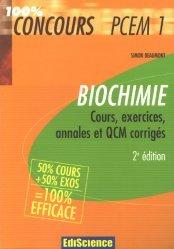 Souvent acheté avec Fiches de révisions en chimie générale, le Biochimie