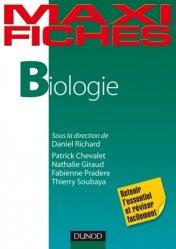 Dernières parutions dans Maxi fiches, Biologie biologie cellulaire, biologie moléculaire, embryologie, histologie, immunologie