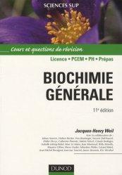 Souvent acheté avec Chimie organique, le Biochimie générale