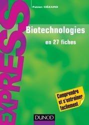Souvent acheté avec Biotechnologies végétales, le Biotechnologies en 27 fiches