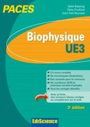 Souvent acheté avec Biologie moléculaire - UE1, le Biophysique UE3