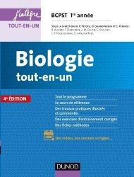 Nouvelle édition Biologie tout-en-un BCPST 1re année
