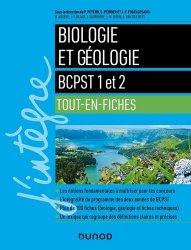 Dernières parutions dans J'intègre, Biologie et géologie - BCPST 1 et 2