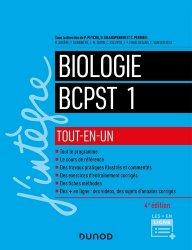 Dernières parutions dans J'intègre, Biologie BCPST 1