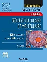 Dernières parutions dans Tout en fiches, Biologie cellulaire et moléculaire