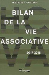 Dernières parutions sur Associations, Bilan de la vie associative. Edition 2017-2018