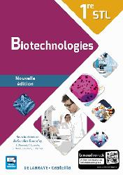 Dernières parutions sur Chimie industrielle, Biotechnologies 1re STL (2016) - Manuel élève