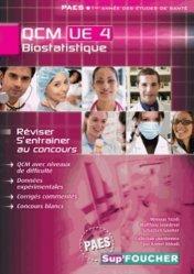 Souvent acheté avec QCM UE1 Biologie moléculaire, le Biostatistique QCM UE4