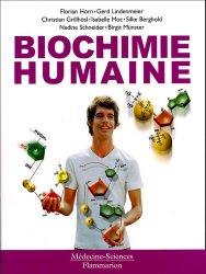 Nouvelle édition Biochimie humaine