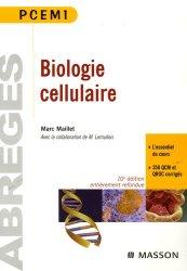 Souvent acheté avec Biologie cellulaire, moléculaire et génétique en 1001 QCM, le Biologie cellulaire