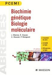 Souvent acheté avec Anatomie générale, le Biochimie génétique biologie moléculaire