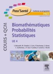 Souvent acheté avec UE 3a Organisation des appareils et des systèmes, le Biomathématiques - Probabilités - Statistiques UE4