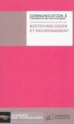 Dernières parutions sur Techniques et procédés, Biotechnologies et environnement