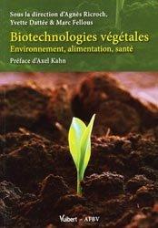 Souvent acheté avec Qu'est ce que l'agriculture écologiquement intensive ?, le Biotechnologies végétales
