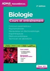 Dernières parutions dans Admis Paramédical, Biologie