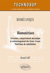 Dernières parutions dans Technosup, Biomécanique, biomatériaux