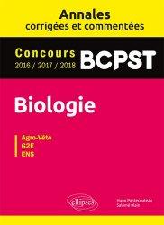 Dernières parutions sur Etudes vétérinaires, Biologie BCPST - Annales corrigées et commentées