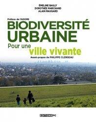 Dernières parutions sur Urbanisme durable - Nature urbaine, Biodiversité urbaine