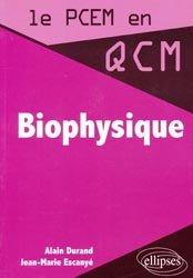 Souvent acheté avec Biologie cellulaire, le Biophysique