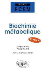 Souvent acheté avec Atlas de poche de génétique, le Biochimie métabolique