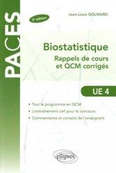 Souvent acheté avec Toute l'UE3 en fiches PACES, le Biostatistique